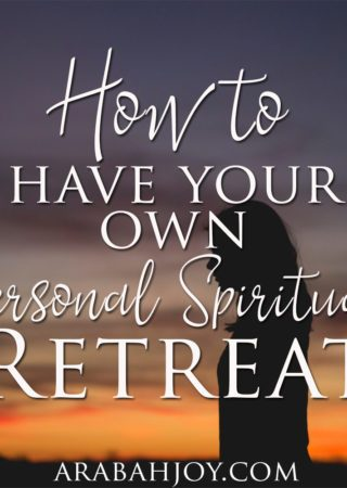 Do you take regular spiritual retreats? Here are three biblical reasons why you should!