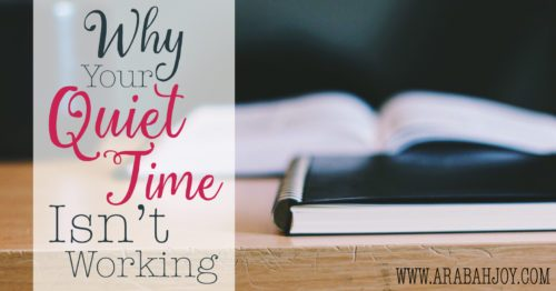 "Do you long for more from your quiet time? Here are three tips I'm learned over many years of walking with the Lord for how to get more ""meat"" from your time with the Lord."