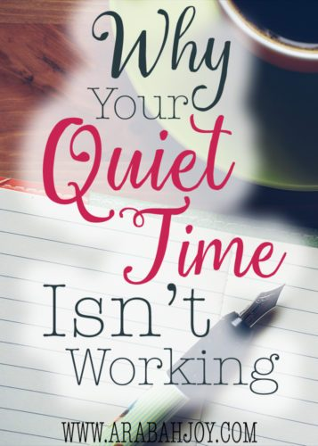 """Do you long for more from your quiet time? Here are three tips I'm learned over many years of walking with the Lord for how to get more """"meat"""" from your time with the Lord."""
