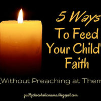 Feeding Your Child's Faith {With Link Up}