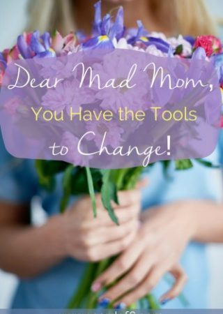 Dear Mad Mom, encouragement and practical tools for when you've had it! Join us for the Grace & Truth linkup!
