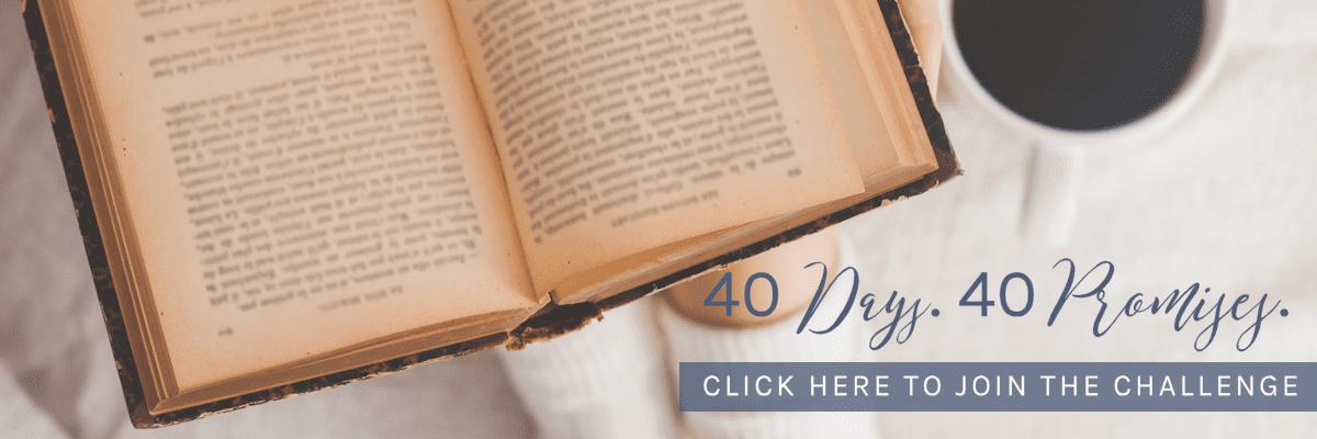 40 Days. 40 Promises.