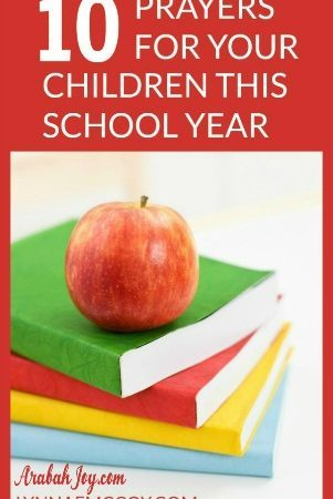 As your child starts back to school, here are 10 important prayers for the school year.