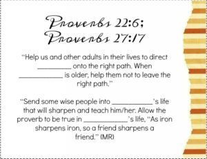 Proverbs 22:6- A back to school scripture to pray for our kids