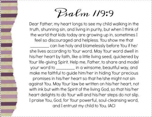 Psalm 119:9