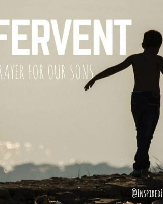 This fervent prayer offers words to speak to God about your child {with linkup}