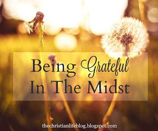 Being Grateful - encouragement for times of trial {with linkup}