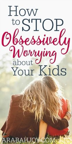 Do you find yourself worrying about your kids? Here is the one truth we need to cling to in order to stop the worry.