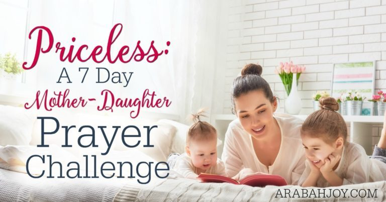 Introducing Our First Ever Mother-Daughter Mini Prayer Challenge!