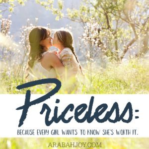 Inspired by Priceless The Movie, this 7-day mother-daughter prayer challenge will help you and your daughter discover your true worth based on the word of God. Join the FREE challenge today!