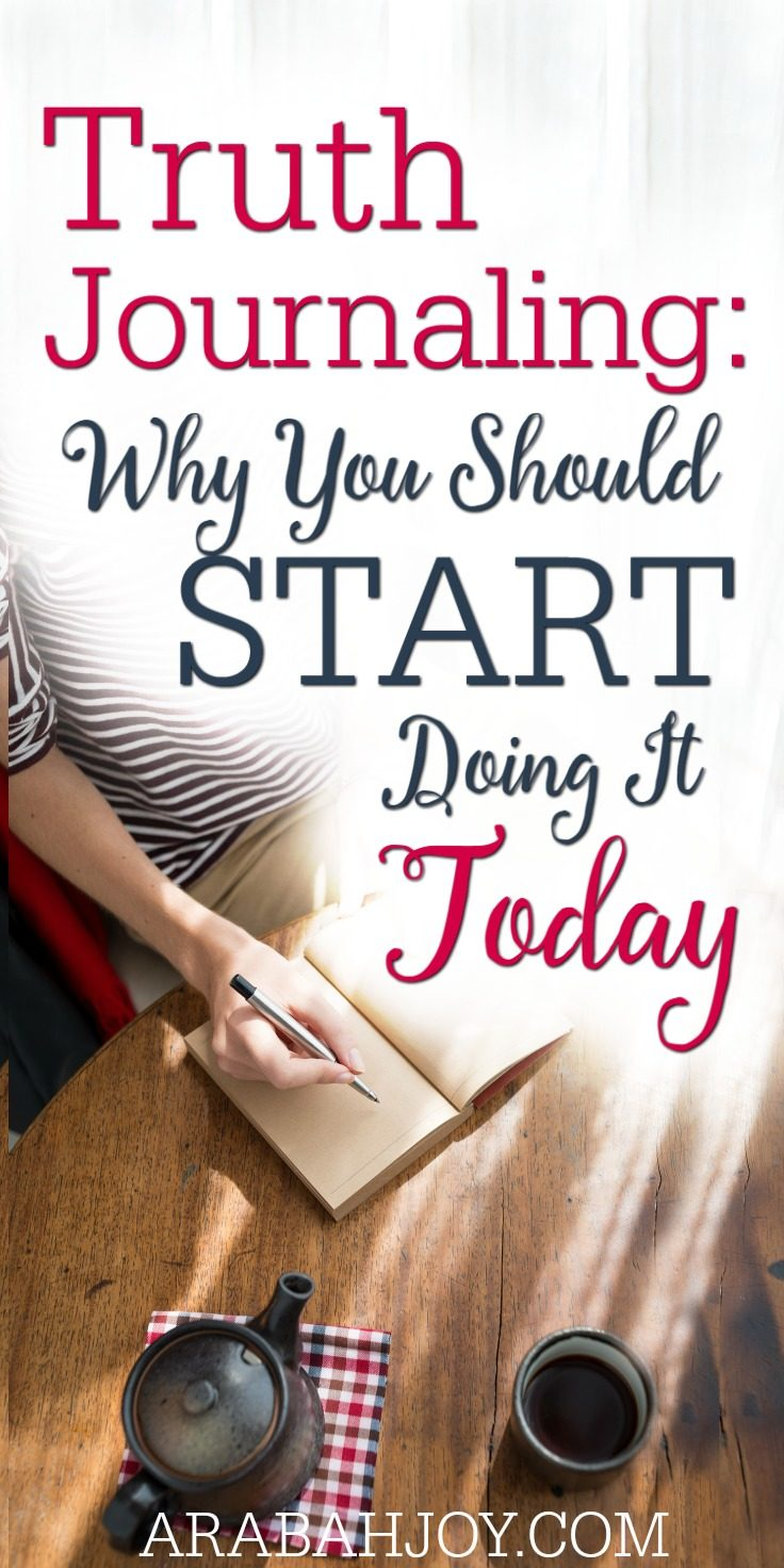 Why and How to Start a Truth Journal