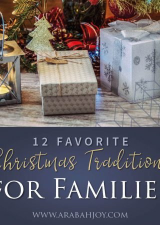 Looking for fun family Christmas traditions? Here are 12+ fun and unique traditions to enjoy with your family this holiday season.