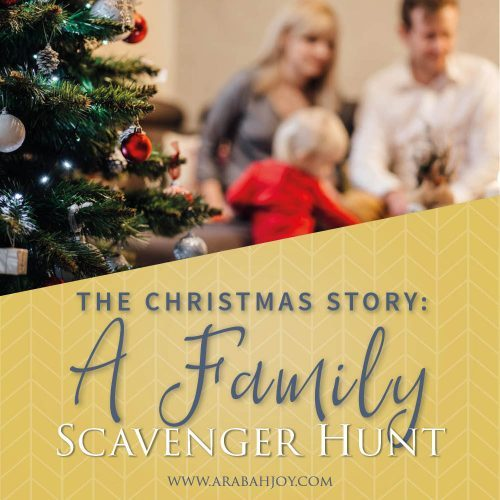 Use this fun Christmas Scavenger Hunt to celebrate the true meaning of Christmas this year with your family!