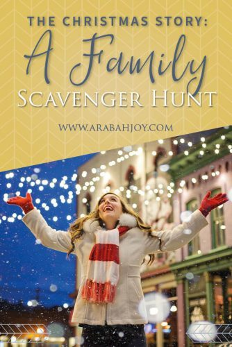 Looking for meaningful Christmas activities? Use this fun Christmas Scavenger Hunt to celebrate the true meaning of Christmas this year with your family! #Christmas #familyfun #traditions