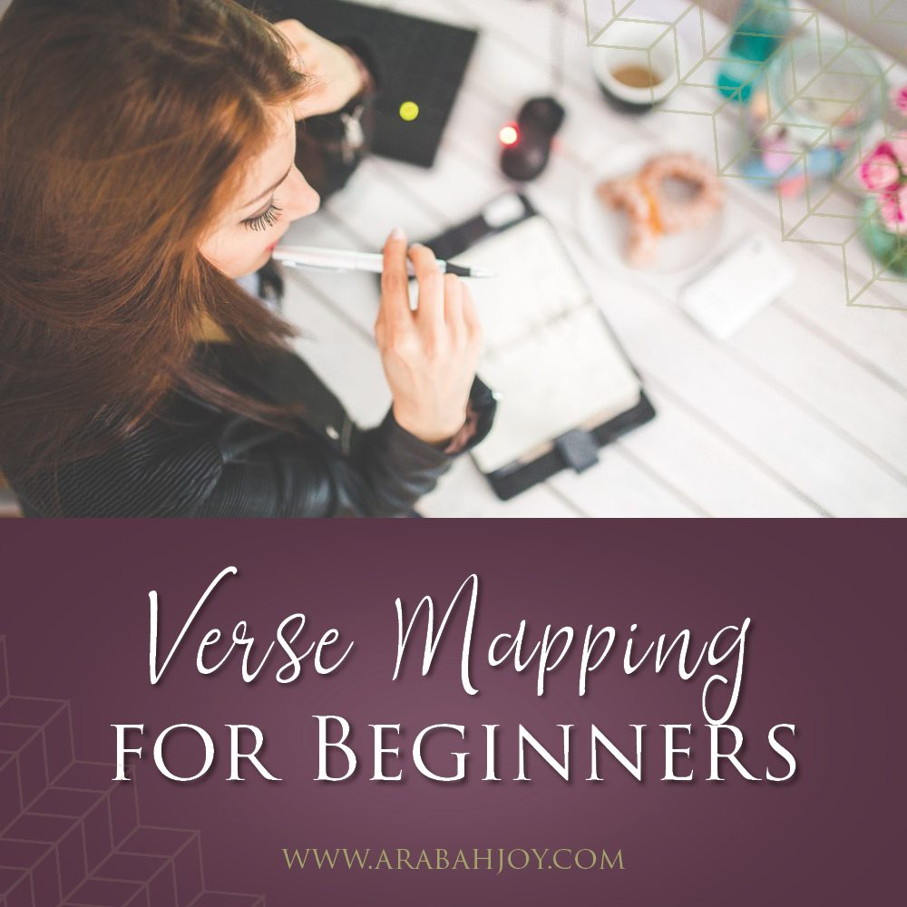Verse mapping is a simple way to dig deep into God's word