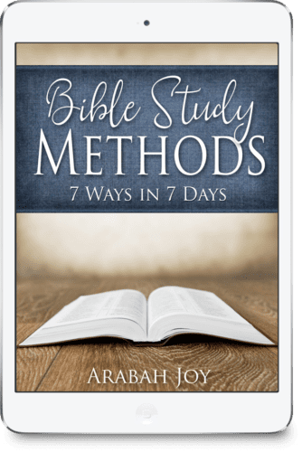 These Bible study methods will work well for beginners or for anyone interested in spiritual growth. Click to learn how to study the Bible with these 7 Bible study methods.