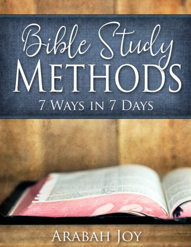 Learn how to study God's word for yourself with these 7 Bible Study Methods!