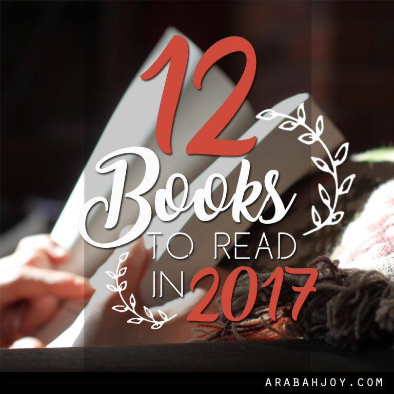 12 Books to Read in 2017 + Link up