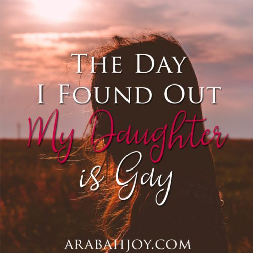 One Mom's story about the Day she Found Out her Daughter was Gay