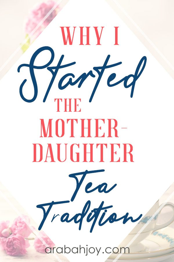 ave you had tea time devotions with your daughter? use the teacup story for when you need some perspective in tough times.