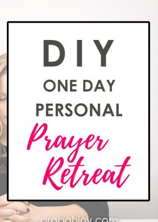 Do you need to press pause on the chaos in your life? Learn the benefits of a personal prayer retreat and how to plan your one day personal prayer retreat.