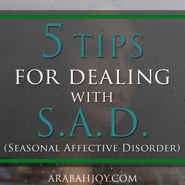 5 Tips for Dealing with Seasonal Affective Disorder
