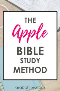 This acronym helps you dig deeper into your study of God's Word. Use this easy reminder to learn more in your Bible study.