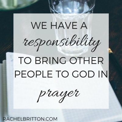 Who are you praying for today? {with linkup}