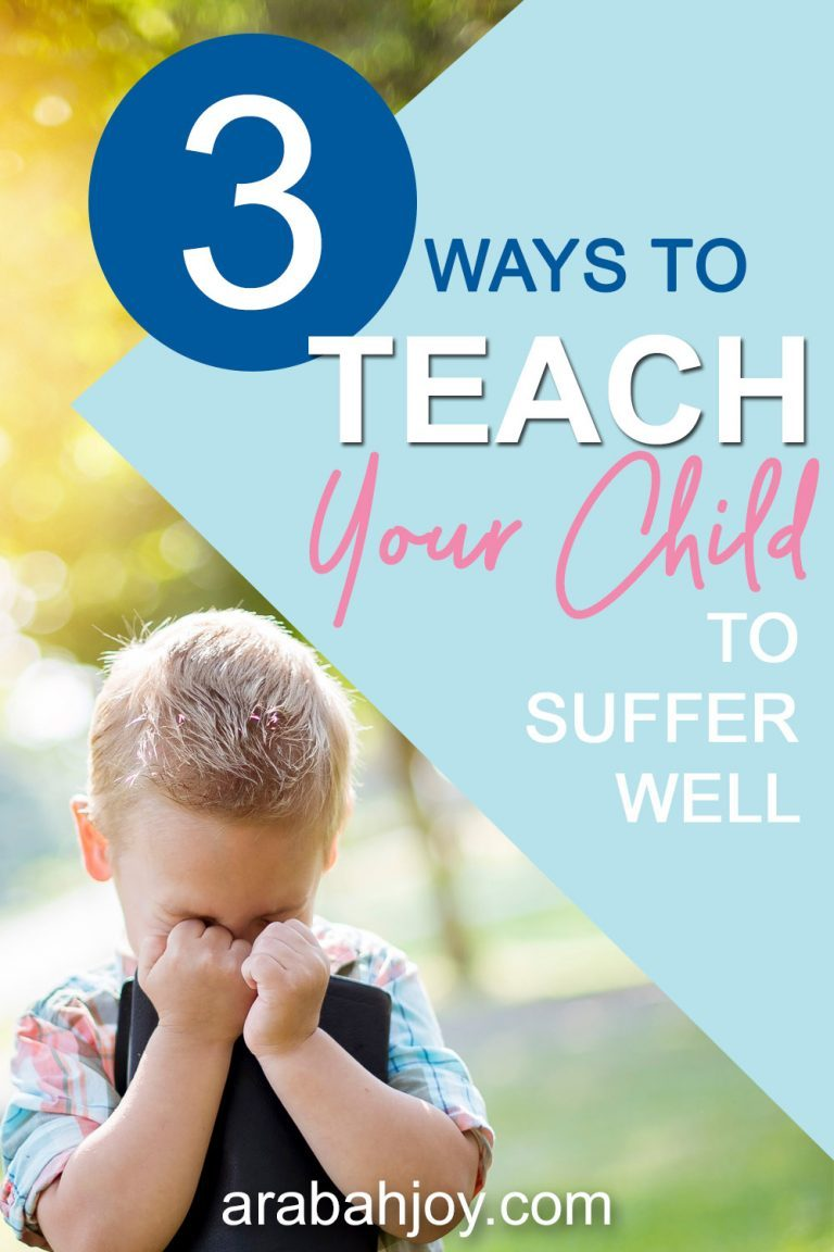 Why You Should Teach Your Kids to Suffer