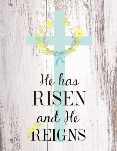 Easter- He has risen!