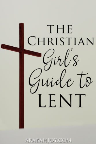 Prepare your heart to experience the joy of Easter by observing Lent. Learn how by checking out The Christian Girl's Guide to Lent.