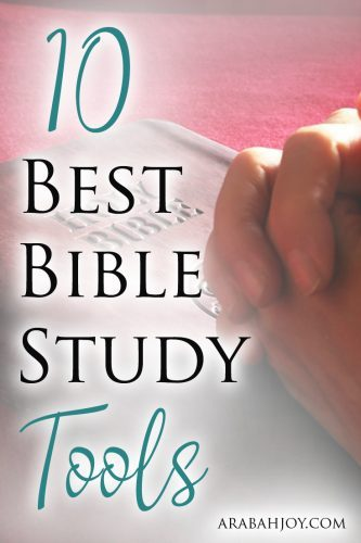 10 best tools for studying the bible