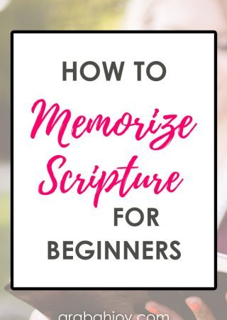 Use these tips to learn how to memorize the Bible verses or passages you want to commit to memory.