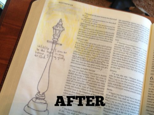 Bible Journaling for Non-Artists