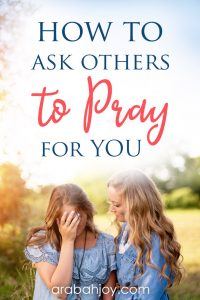 If youare hesitant toask others to pray for you,and feel you should beable to handle it on your own, read our post to learn how toask others to pray for you.