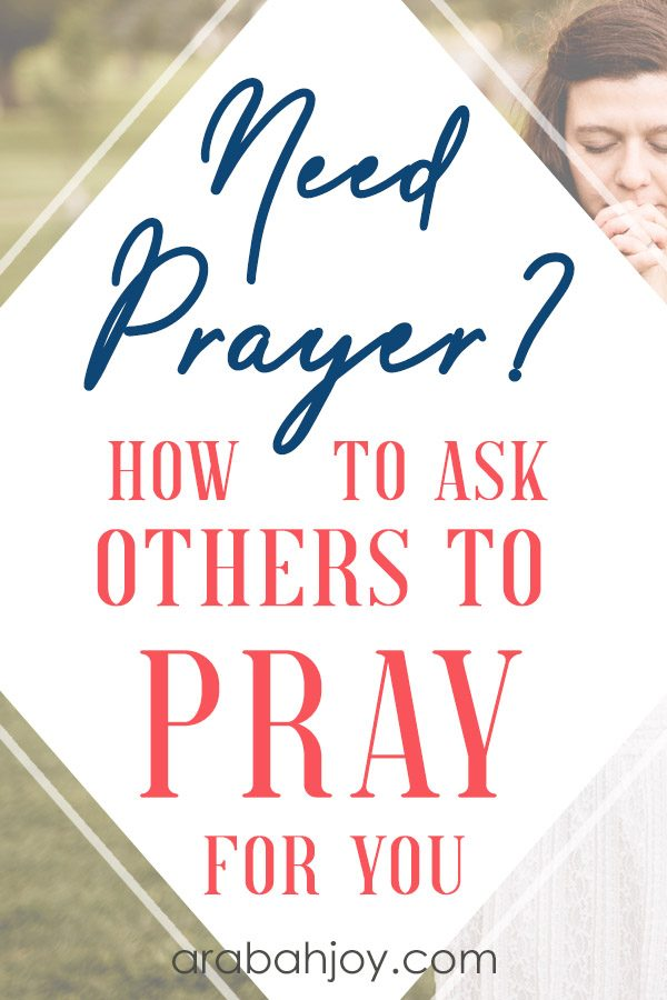 Do you struggle with asking others to pray for you? Do you feel you should be able to handle it on your own? How to ask others to pray for you.
