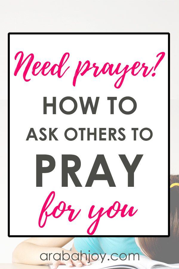 If you struggle with asking others to pray for you, read this post and see why it's important to be able to ask others to pray for you.