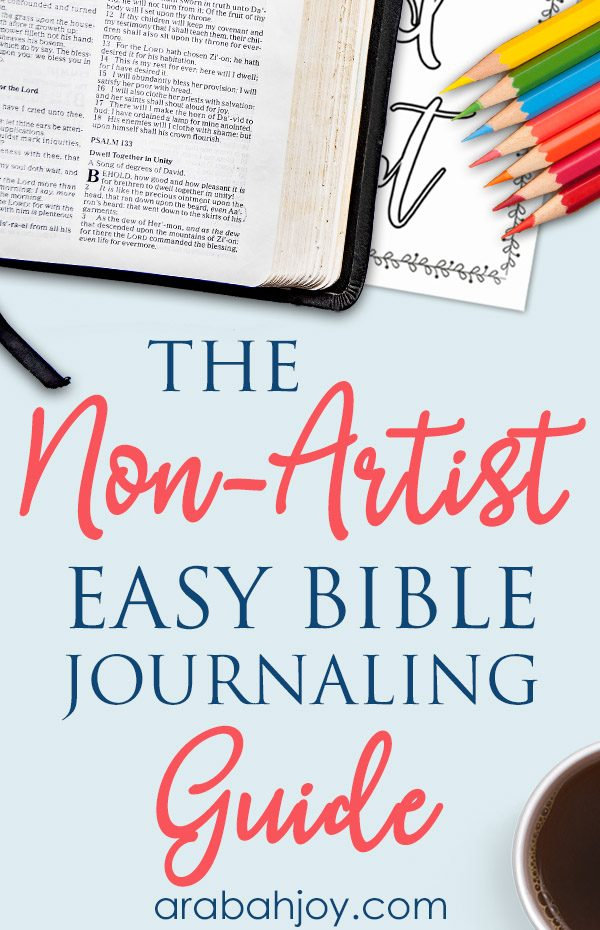Do you love the idea of journaling but feel like you're not an artist? Read our tips on easy journaling ideas for the non-artist.