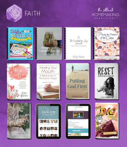 This year's Ultimate Homemaking Bundle is available from April 26 - May 1, 2017!!