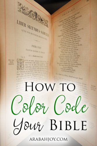 Are you looking for a new Bible study method to help you understand God's Word? Try the Color Coding method to understand passages in a new, fresh way.