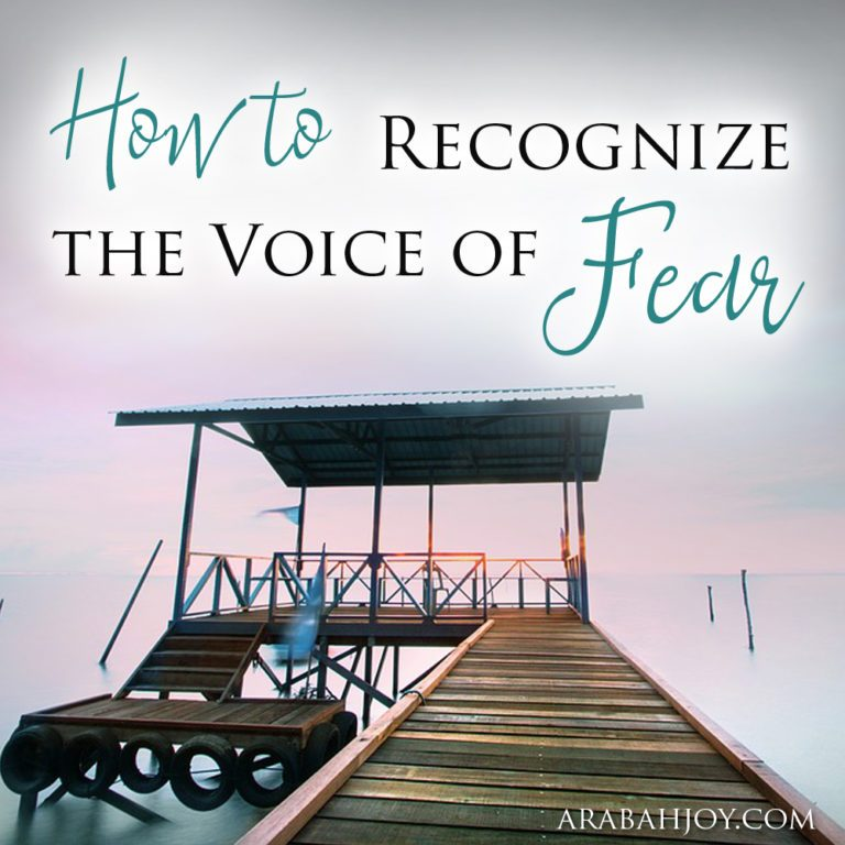 How to Recognize the Voice of Fear
