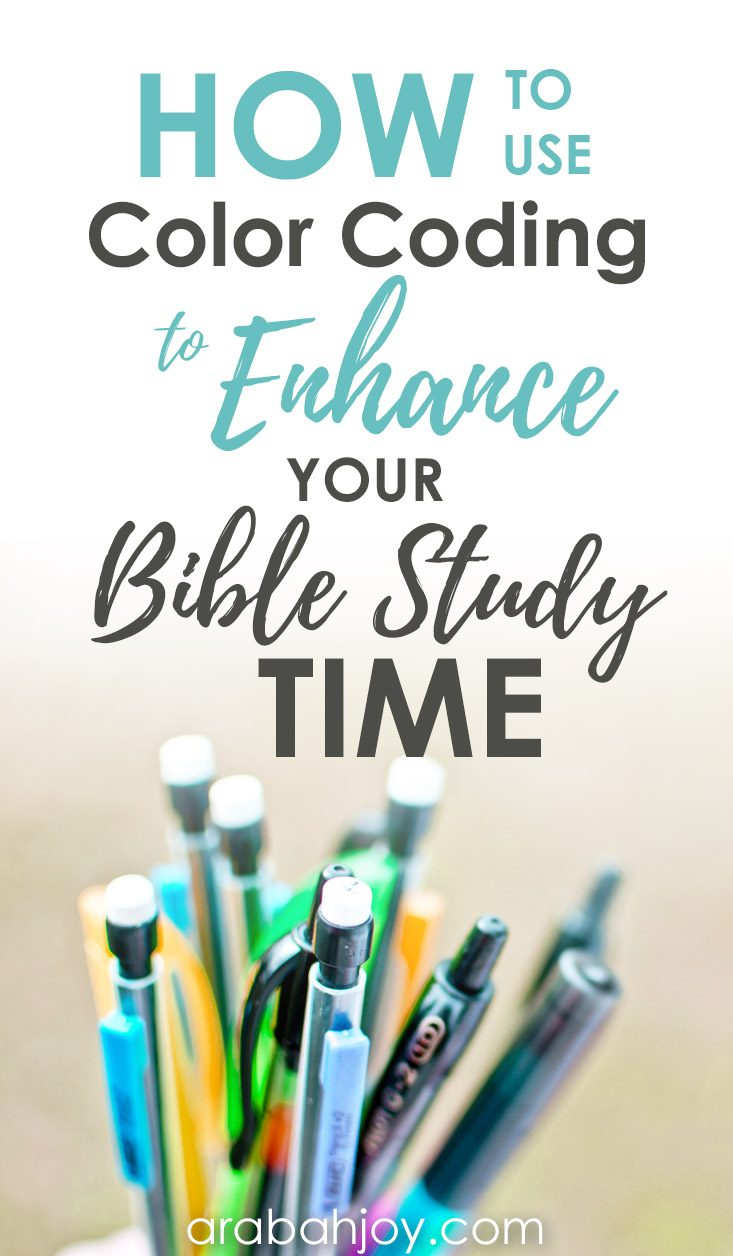 How to use color coding to enhance your bible study time thecheapjerseys Choice Image