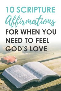 My friend's husband is cheating on her. She's heartbroken and dangerously close to believing something is wrong with her. She needs to know and feel God's love like never before... and so do I.