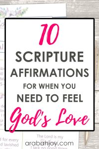 Learn how these daily affirmations for Christian women can help your spiritual growth, and grab the printable affirmation cards!
