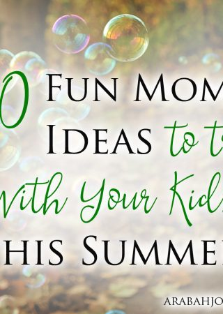 I struggle to be a fun mom but something happened in the car line at school to make me want to change that. Here are 50 fun mom ideas to try with your kids!