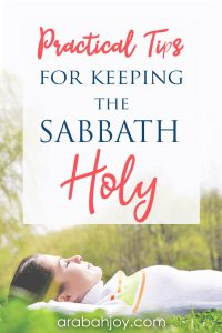 Try these tips with your family to keep the sabbath holy. Read these 10 ways to keep the Sabbath holy & try one this week.