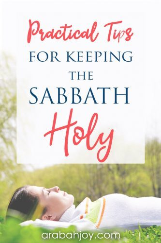 Try these tips with your family on how to keep the sabbath holy. Read these 10 ways to keep the Sabbath holy & try one this week.