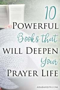Are you looking to learn more about prayer and strengthen your faith in the process? These are 10 powerful books that will deepen your prayer life.