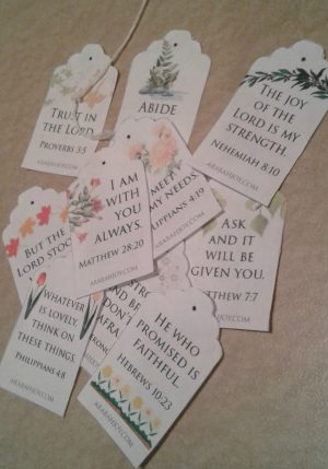 Need a mini-retreat? Grab this FREE Scripture Tea Tags Printable and read about one of my favorite traditions!