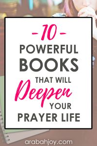 Use these powerful books to deepen your prayer life.